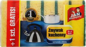 Губка Jan Niezbedny для миття посуду 6шт Art. 230405
