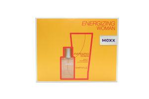 Mexx Energizing жін.набір (т/вода15мл+гель-душ50мл)
