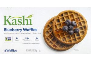 Kashi Waffles Blueberry - 8 CT