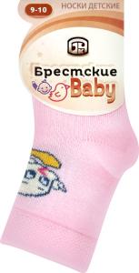 Носки детские Брестские 3081 020 бл.розовый р.9-10