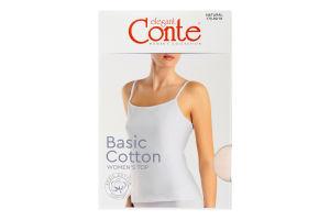Топ жіночий Conte elegant Basic Collection №LT2019 170-92/M natural
