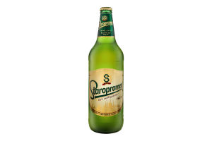 Пиво 0.75л 4.2% светлое пастеризованное Staropramen бут