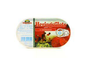 Филе оселедця Rugen Krone 200г томатном.соусі з/б (Герм)