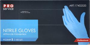 Рукавички нітрилові S Professional PRO service 100шт