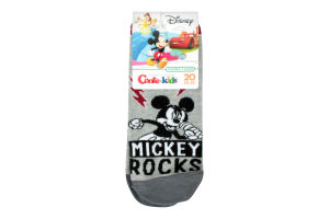 Носки дет Conte-kids Disney 17С127 серый р20 352