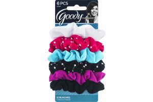 Goody Ouchless Scrunchies - 6 CT