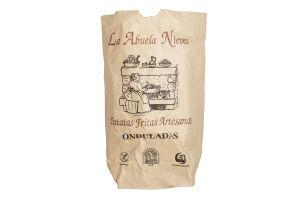 Чипсы картофельные натуральные волнистые La Abuela Nieves м/у 200г
