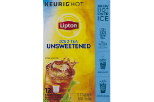 Lipton Iced Tea Unsweetened K-Cup Pods -12 CT