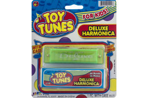 Ja-Ru Toy Tunes Deluxe Harmonica With Case