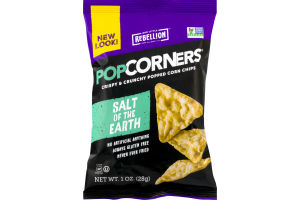 Popcorners Crispy & Crunchy Popped Corn Chips Salt Of The Earth