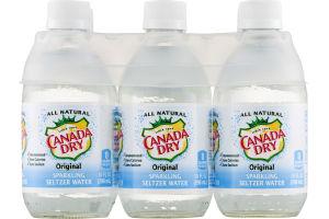 Canada Dry Original Sparkling Seltzer Water - 6 PK
