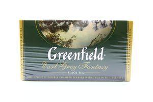 Чай черный Earl Grey Fantasy Greenfield к/у 25х2г