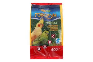 Корм для волнистых и средних попугаев Просо Говорун Hobby Meal м/у 600г
