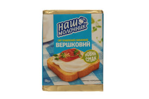 Сыр плавленный Наш молочник Сливочный