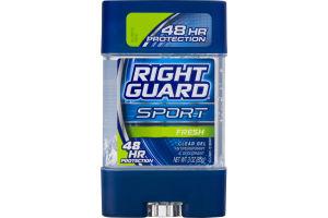 Right Guard Sport Antiperspirant & Deodorant Clear Gel Fresh