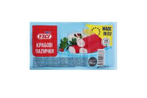 Палочки крабовые замороженные Vici в/у 250г
