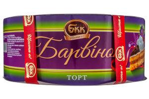 Торт Барвинок БКК к/у 0.85кг