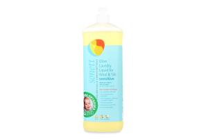 Жидкость для стирки шерсти и шелка органическая оливковая Sonett 1л