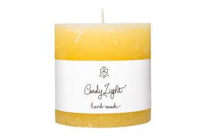 Свеча Candy Light цилиндр ваниль С10*10/1-1.8
