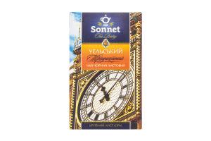 Чай черный крупнолистовой Уельский Традиционный Sonnet к/у 85г