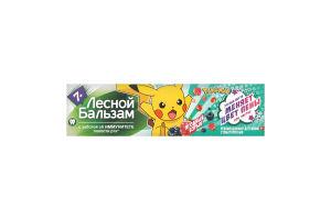 Зубная паста для детей с 7 лет Лесной бальзам 50мл