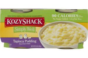 KozyShack Simply Well Gluten Free Tapioca Pudding - 4 CT