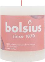 Свеча Bolsius Руcтик мягкая жемчужина 80/68мм