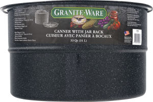 Granite-Ware Canner with Jar Rack