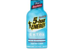 5-Hour Energy Extra Strength Dietary Supplement Blue Raspberry