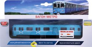 Автомодель для дітей від 3років №SB-17-19WB Вагон метро TechnoPark 1шт