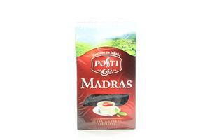 Чай черный листовой Madras Posti к/у 100г