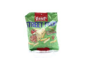 Сухарики со вкусом Мексиканского буррито Street Food Flint м/у 80г