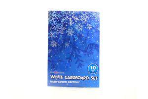 Набір білого картону 10арк 21000