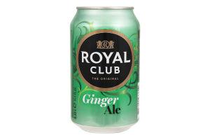 Напиток Royal Club Имбирный эль б/алк газ