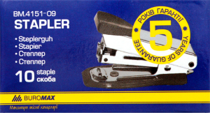 Степлер Buromax №10 в ассорт 4151