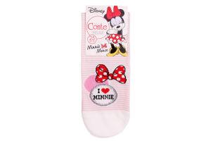 Шкарпетки жіночі Conte Disney №17С-128CПМ 25 світло-рожевий