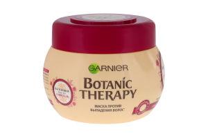 Маска для волосся проти випадання Касторова олія і мигдаль Botanic Therapy Garnier 300мл