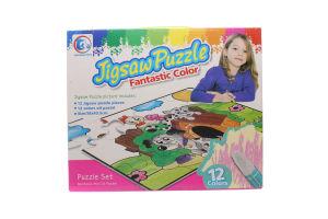 Пазл-раскр Jigsaw Puzzle Собачки 12эл 132085-JP