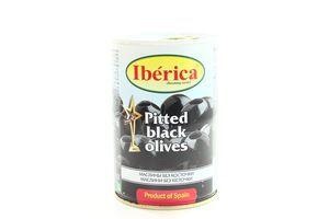 Маслины без косточки Iberica ж/б 420г