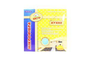 Серветка Чисто мікрофібра для кухні Арт.151068 х6