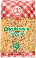 Изделия макаронные Спиральки №1 м/у 1000г