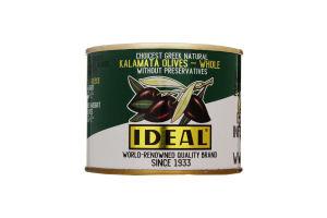 Оливки з кісточкою Каламата Ideal з/б 175г