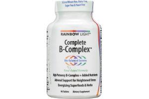Rainbow Light Complete B-Complex Tablets - 90 CT