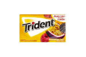 Резинка жевательная Trident маракуйя-малина
