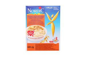 Пластівці суміш 4-х видів зернових Nordic з вівсяними висівками 600г