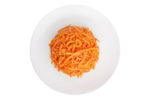 Салаты Морковь по-корейски с кунжутом Ніжинський консервний завод кг