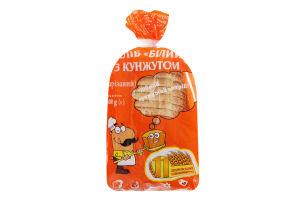 Хлеб с кунжутом нарезной Белый Дніпровський хлібокомбінат №11 м/у 500г