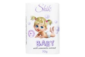 Мило туалетне дитяче з екстрактом ромашки Shik 70г