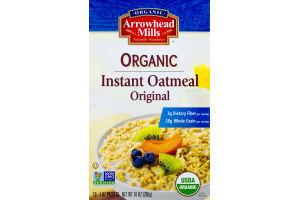 Arrowhead Mills Organic Instant Oatmeal Original - 10 CT