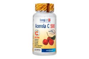 Добавка диет Long Life Acerola C 500 Ацерола